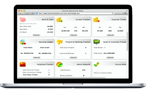 Online Housing Society Accounting Software